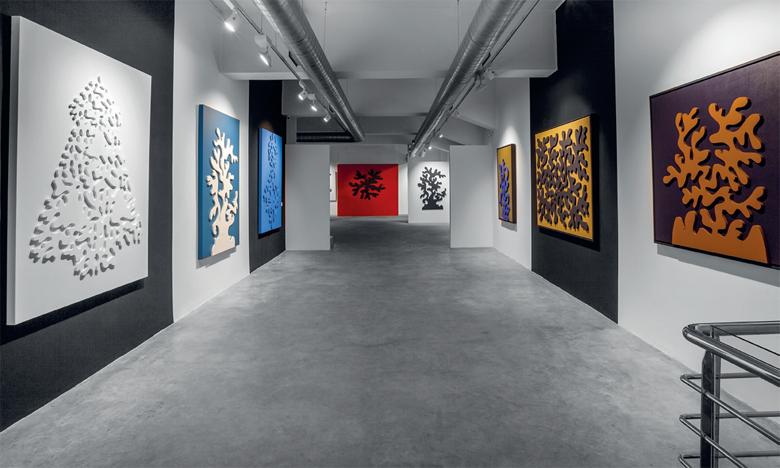 Exposition de Malika Agueznay.