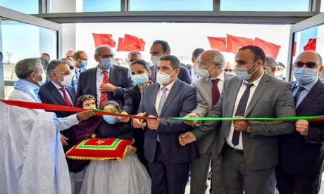 L'Institut a été inauguré en présence notamment du ministre de l'Éducation nationale, Saaid Amzazi. Ph. DR