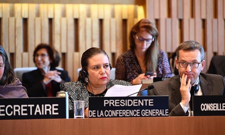 Le Maroc sera représenté au sein de ce Conseil d'administration par Zohour Alaoui, ancienne présidente de la 39e session de la Conférence générale de l'Unesco, pour un mandat de quatre ans. Ph : unesco.org