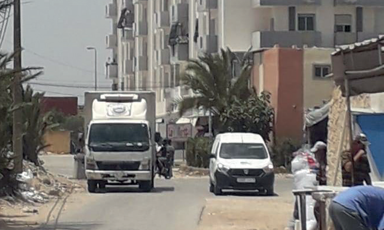 Des habitants de Bouskoura déplorent le piètre état  d'un tronçon routier