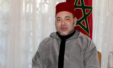 Sa Majesté le Roi informe le Président palestinien qu'Il convoquera prochainement la réunion de la 21e Session du Comité Al-Qods, au Maroc, en vue d'examiner les moyens de consolider la préservation du Statut spécial de la ville d'Al-Qods Acharif