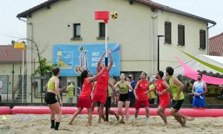 Nador abrite le premier championnat du monde du Beach Korfball