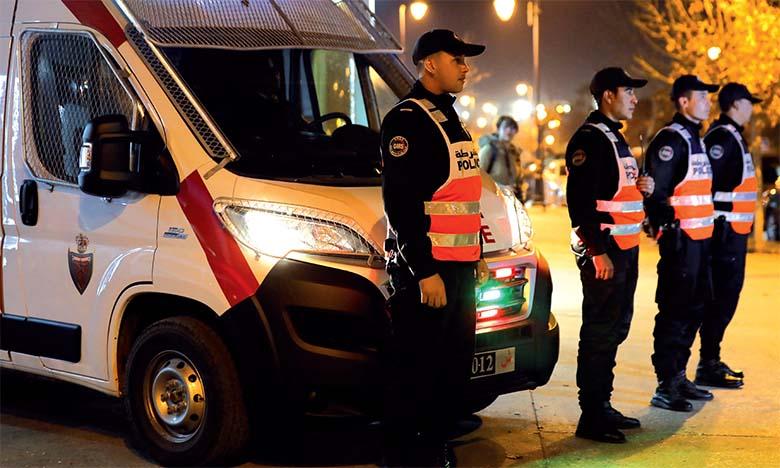 Rabat : Un important dispositif sécuritaire mis en place à l'occasion des fêtes de fin d'année