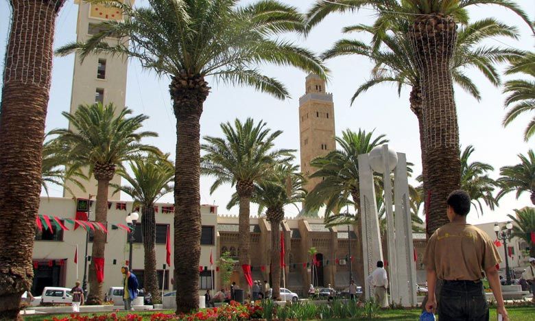 Le PRU du boulevard Mohammed V, qui couvrira une superficie de 11,3 ha, porte sur une artère de grande importance pour la ville d'Oujda. Ph : DR