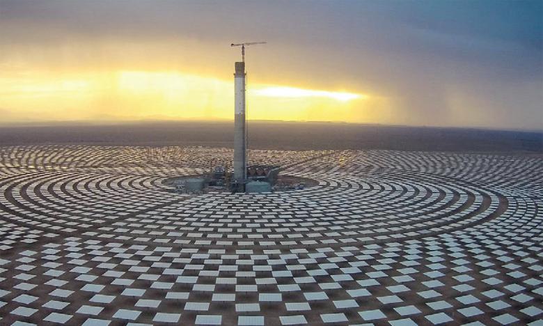 Au Maroc,  la part des énergies renouvelables pourrait atteindre 96% de la capacité électrique installée à l'horizon 2050. Ph. DR