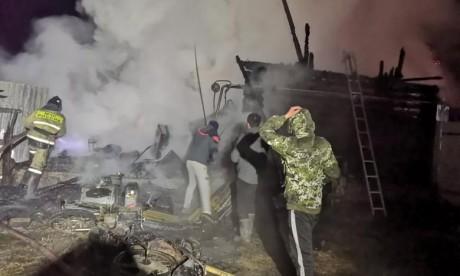 Russie : Un incendie dans une maison de retraite fait 11 morts