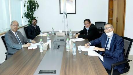 Langue arabe : L'ICESCO et  la Fondation Hamdan Bin Rashid Al Maktoum examinent  les programmes de coopération