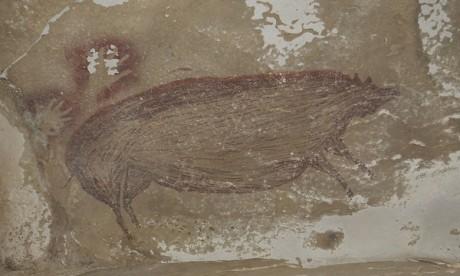 La plus ancienne peinture rupestre découverte dans une grotte indonésienne