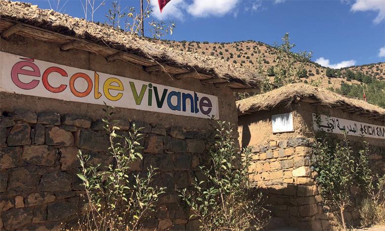 « Campus Vivant'e » : Une école citoyenne pour un enseignement  de qualité au fin fond de l'Atlas