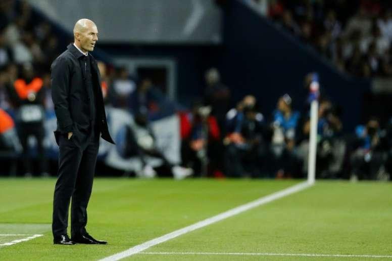 Real Madrid : Zinédine Zidane positif au Covid-19