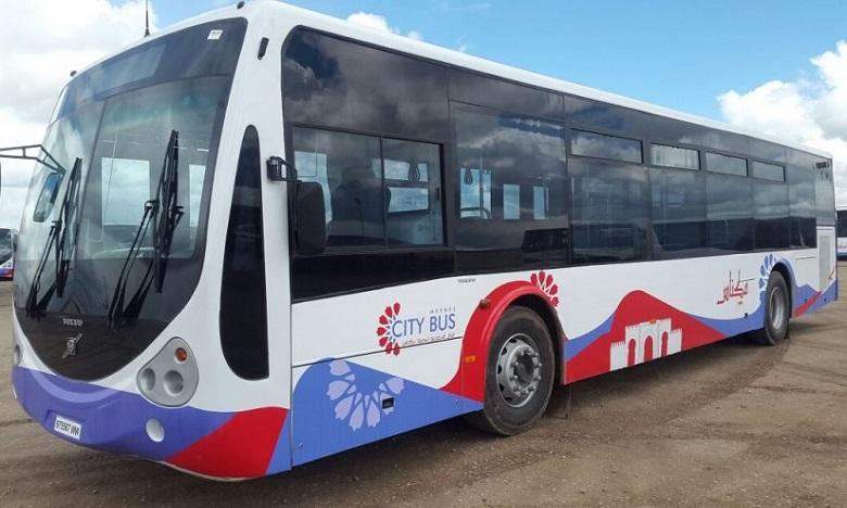 Des bus de nouvelle génération mis en circulation à Meknès
