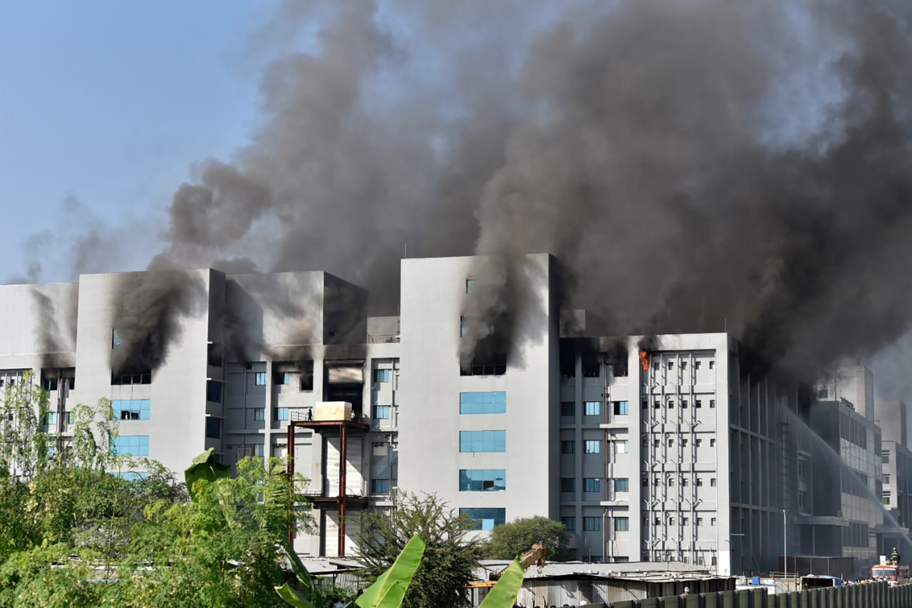 Incendie au Serum institute of India, plus grand fabricant de vaccins au monde