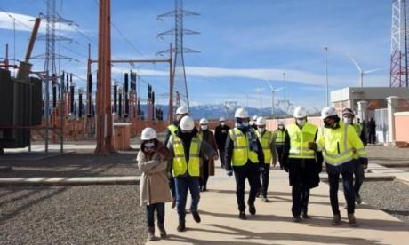 Parc éolien de Midelt: achèvement des travaux de construction