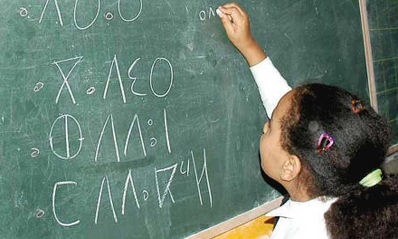 Enseignement primaire: élaboration d'un nouveau projet de curriculum de la langue amazighe