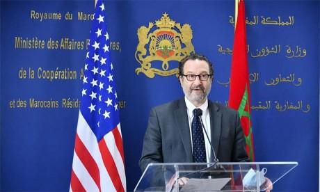Le Sous-secrétaire d'Etat américain chargé du Proche-Orient en visite à Laâyoune