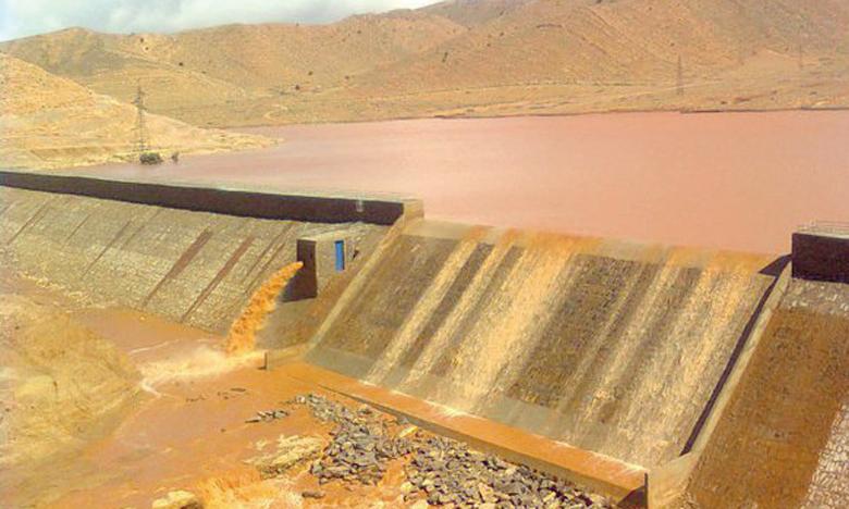 Le taux de remplissage des barrages a atteint 40%