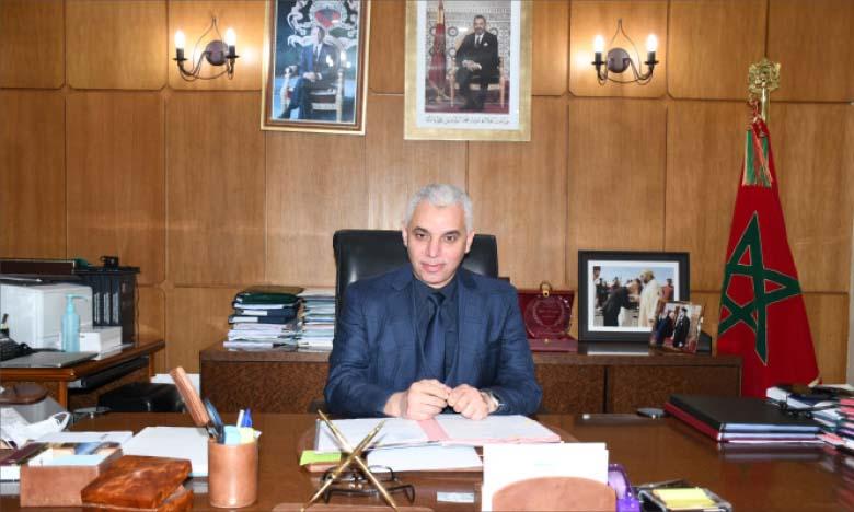 Khalid Aït Taleb, ministre de la Santé. Ph. Sradni