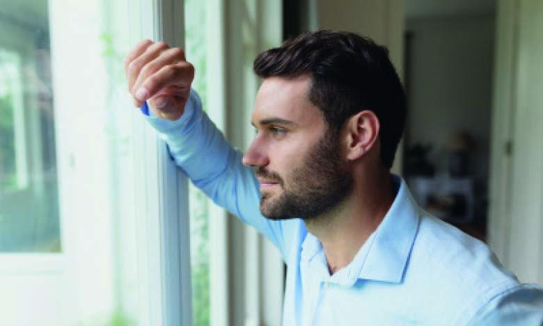 Il est important de parler avec soi-même de façon rassurante, notamment dès qu'on ressent  de l'angoisse et de la peur par rapport à l'évolution des choses.              Ph. Shutterstock