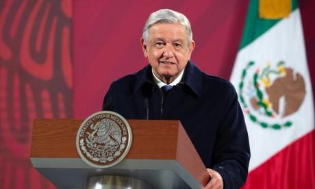 Le président mexicain Lopez Obrador positif à la Covid-19
