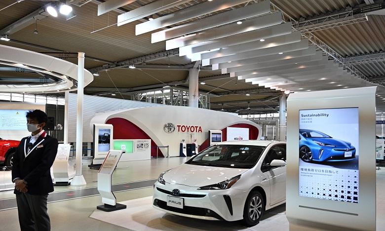 C'est la première fois depuis 2015 que Toyota repasse en tête de ce classement. Ph. AFP