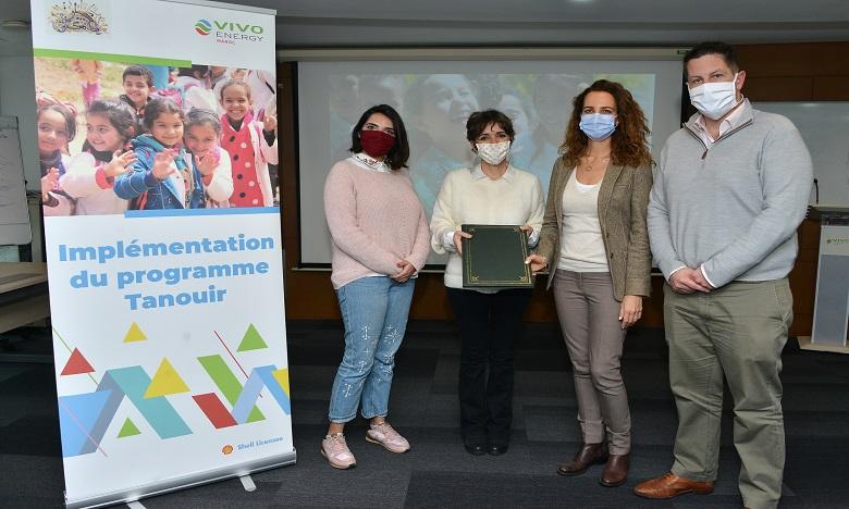 Vivo Energy Maroc soutient les élèves du primaire en milieu rural