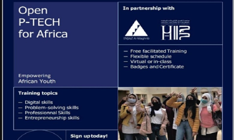 INJAZ Al-Maghrib et l'UH2C lancent le programme Open P-TECH for Africa