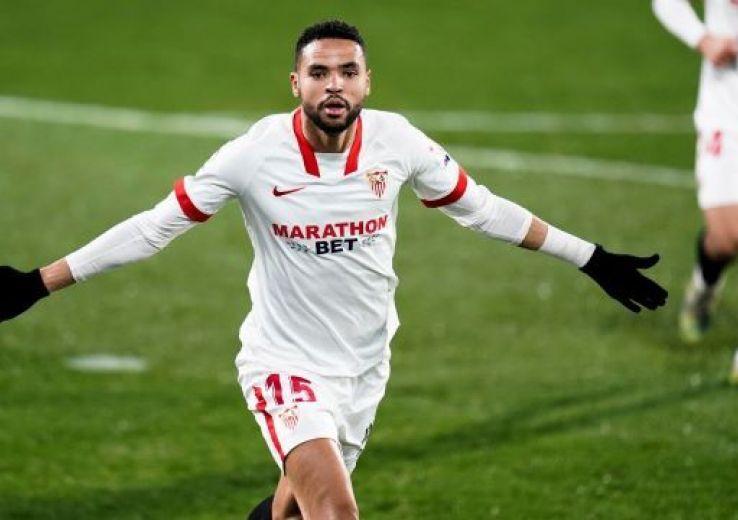 Youssef En-Nseyri voit triple et porte encore le FC Séville