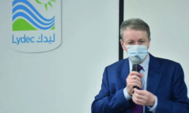 Jean-Pascal Darriet, directeur général de Lydec.                      Ph. Seddik