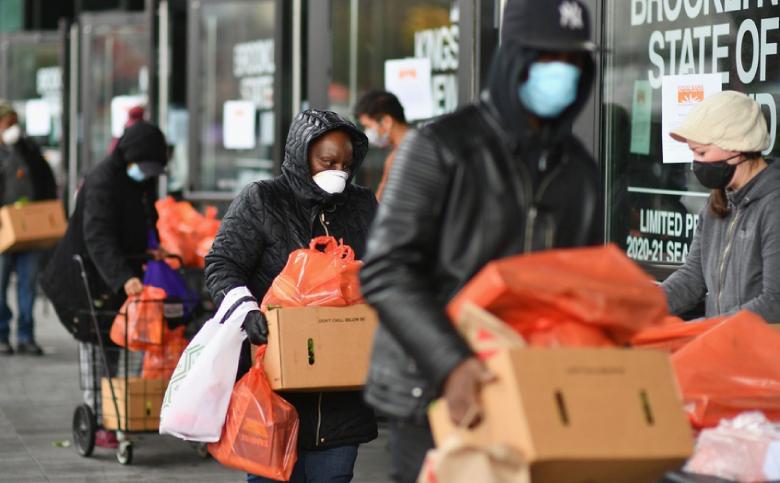 Près de 30 millions d'Américains souffrent de ne pas avoir assez à manger. Ph. AFP