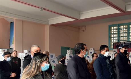 El Jadida : BASF et AMA Détergent unissent leurs efforts pour lutter  contre la Covid-19