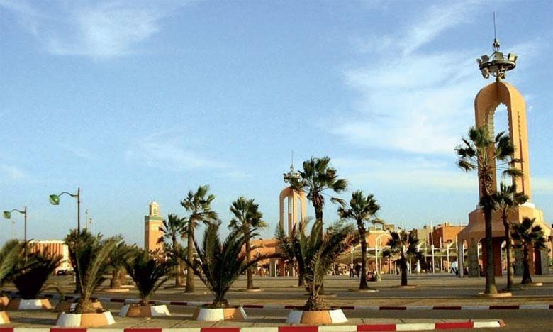 INDH : Inauguration de la plateforme des jeunes à Laâyoune