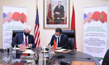 Maroc-USA: Signature d'un mémorandum d'entente pour la préservation du patrimoine culturel marocain