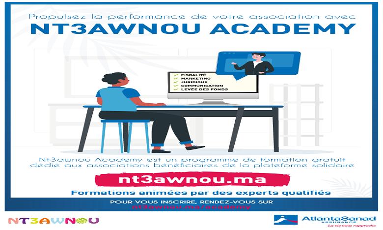 Nt3awnou Academy, le programme d'e-learning  de AtlantaSanad Assurance