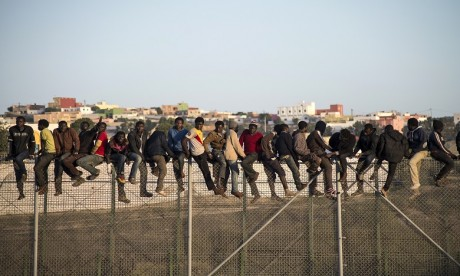 Maroc-Espagne: Nouvel assault massif de migrants sur Melilla