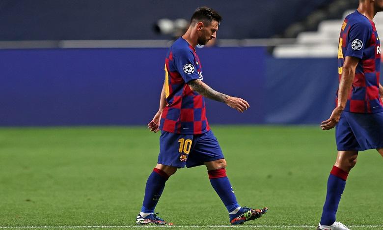 Foot: deux matches de suspension pour Messi après son exclusion en Supercoupe