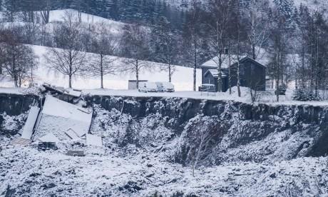 Norvège : Un septième corps retrouvé après le glissement de terrain