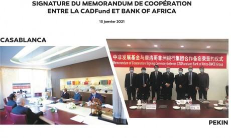 Bank Of Africa et CADFund signent un partenariat