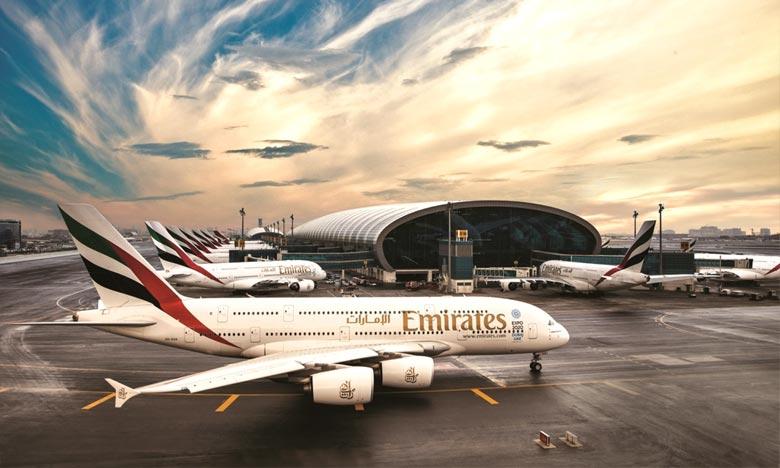 Emirates a largement repris ses activités après la paralysie du transport aérien mondial. Ph : DR
