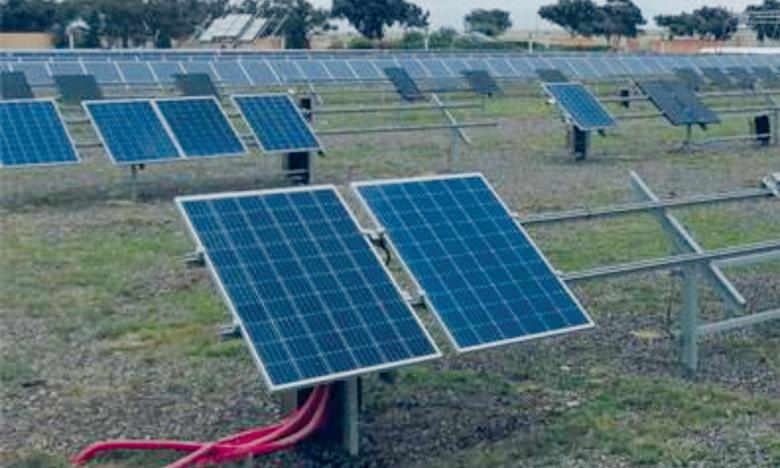 «Green and Smart Building» de Benguérir est une plateforme de recherche dédiée à l'écoconstruction, aux réseaux intelligents et à la mobilité durable.  Ph. Seddik