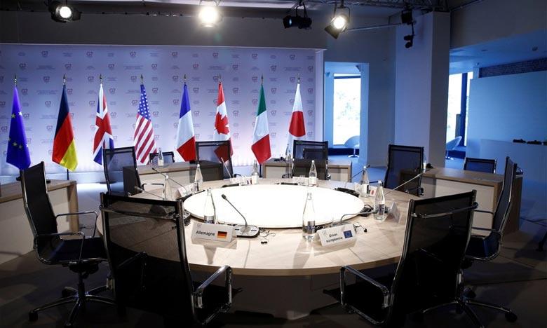 Outre les pays membres du G7, le gouvernement britannique a invité l'Australie, l'Inde et la Corée du Sud à se joindre aux discussions.  Ph :  AFP