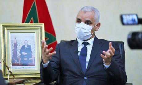 Khalid Aït Taleb : Les préparatifs vont bon train pour le lancement de la campagne de vaccination anti-Covid-19