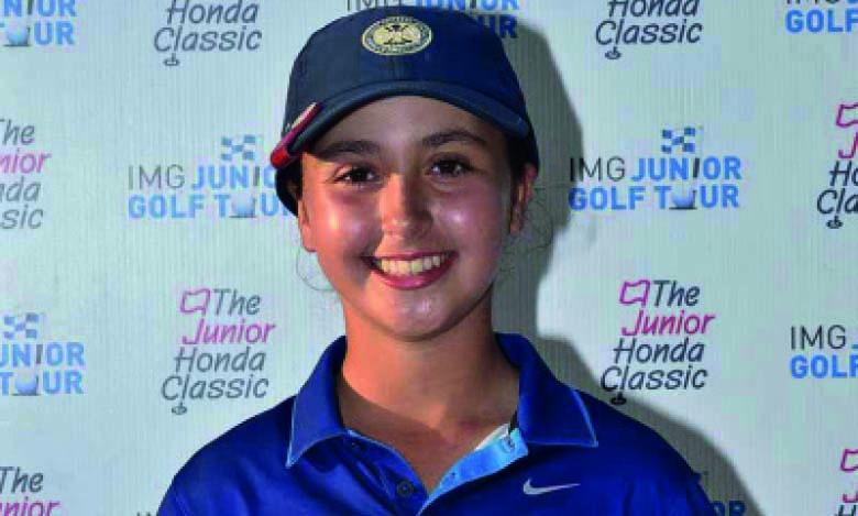 Sofia Essakali remporte  le Junior Honda Classic