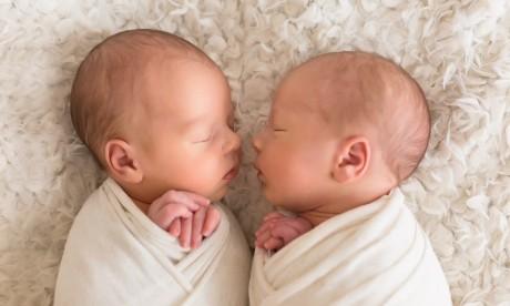 Les vrais jumeaux, pas si identiques qu'on le pense !