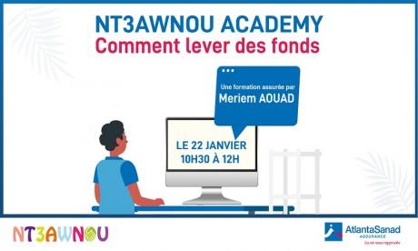 La plateforme solidaire d'AtlantaSanad Assurance lance Nt3awnou Academy