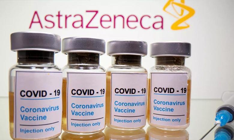 AstraZeneca a fait l'objet d'un rappel à l'ordre de la CE après avoir annoncé la semaine dernière que les livraisons de son vaccin contre le Covid seraient moins importantes. Ph :  AFP