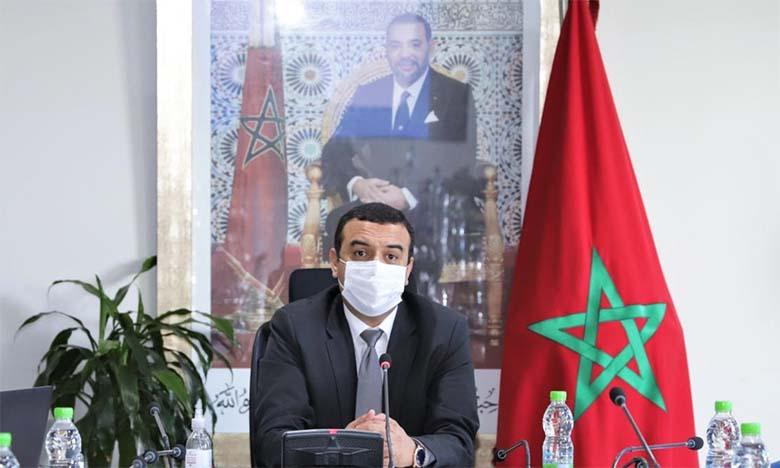 Mohamed Amekraz, ministre du Travail.