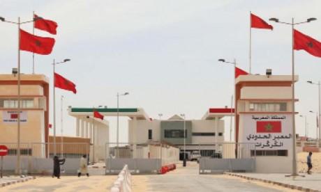 Les FAR rétablissent la circulation entre le Maroc et la Mauritanie,  via le passage de Guergarate