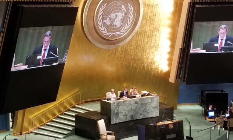 New York : Le Maroc présidant le débat de la 72e Assemblée générale de l'ONU.