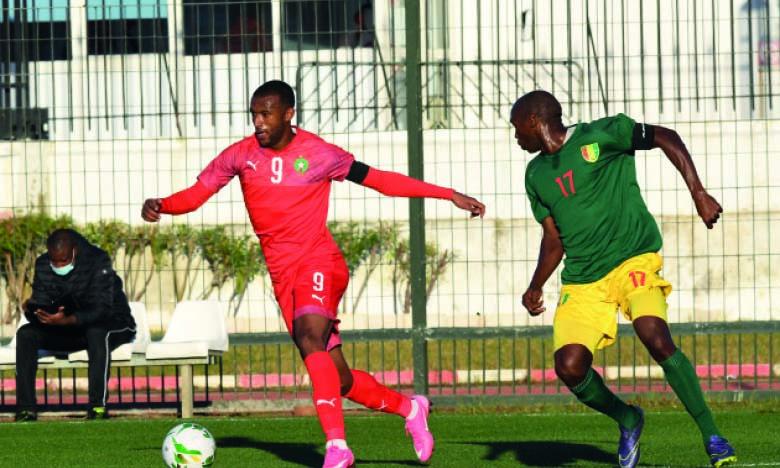 Ayoub El Kaabi a inscrit l'unique but de la rencontre à la sixième minute.