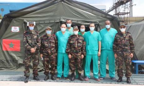 Un Hôpital médico-chirurgical des FAR déployé à Beyrouth